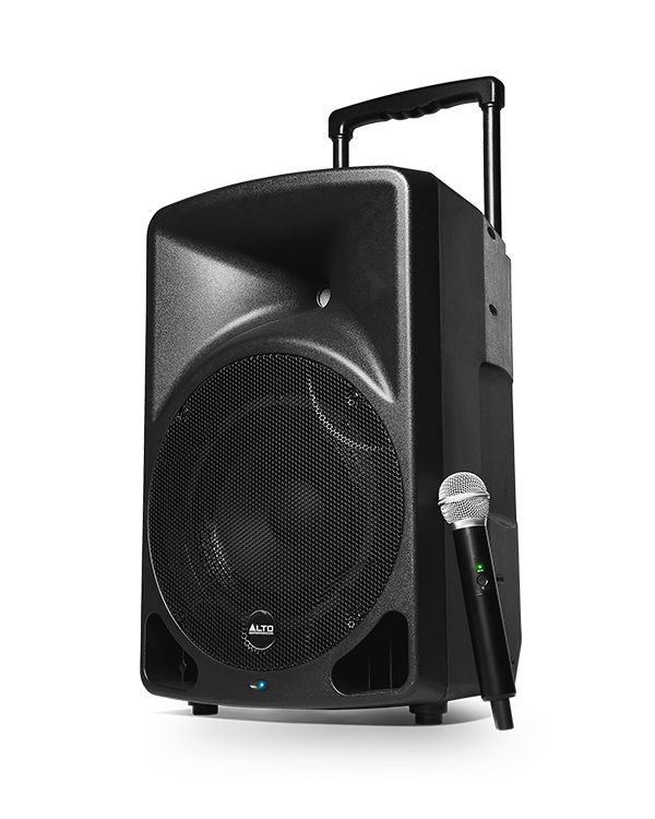 Alto Transport 12 Battery Powered Portable PA System with Mic