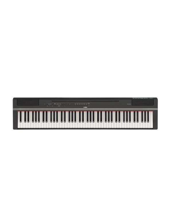 Yamaha P-125 Portable Digital Piano Black