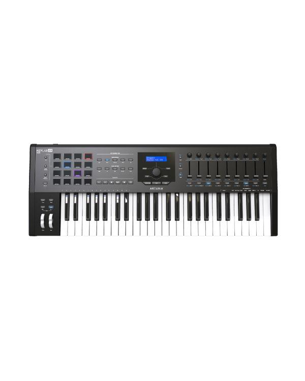 Arturia Keylab 49 MKII USB MIDI Keyboard, Black