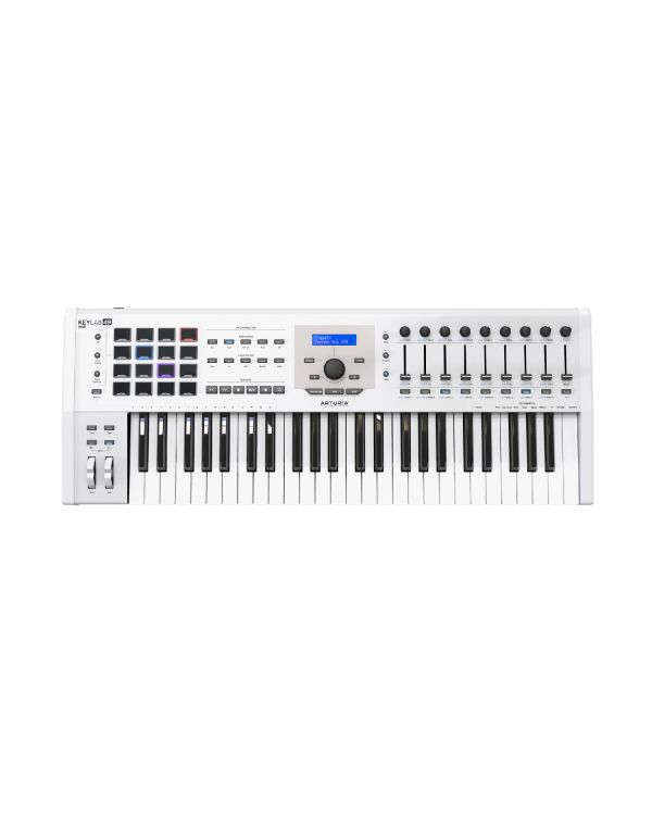 Arturia Keylab 49 MKII USB MIDI Keyboard, White