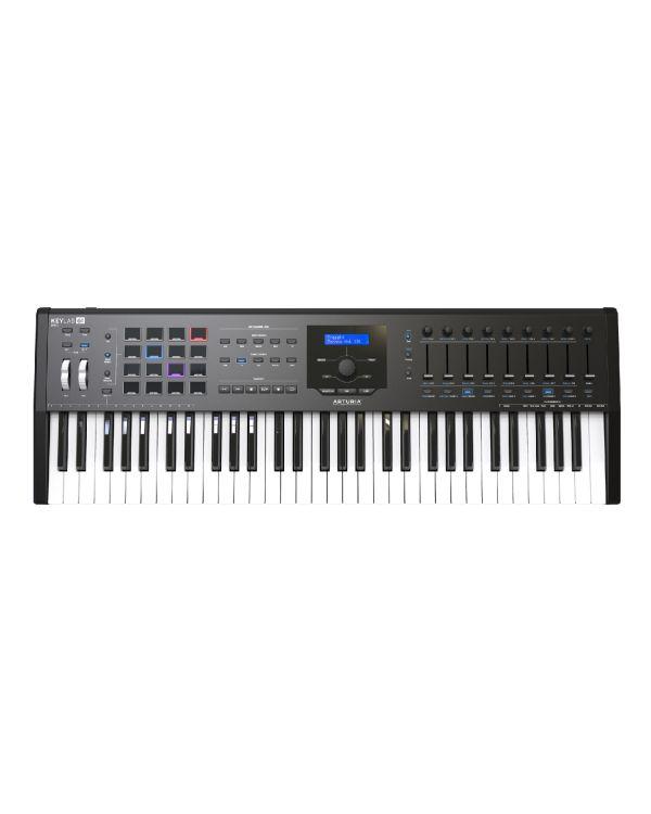 Arturia Keylab 61 MKII USB MIDI Keyboard, Black