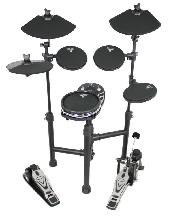 TOURTECH TT-12SM Electronic Drum Kit with Mesh Snare