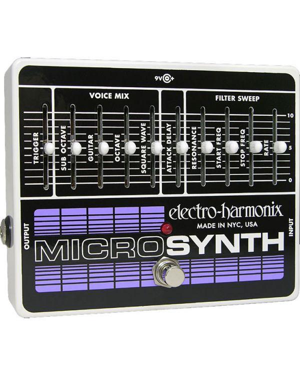 Electro Harmonix Micro Synth Analog Guitar Synthesiser Pedal