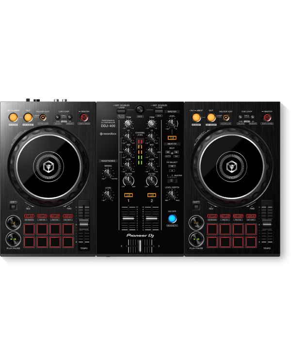Pioneer DJ DDJ-400 2-Channel USB DJ Controller