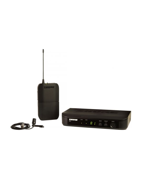 Shure BLX14UK CVL Wireless System with CVL Lavalier Mic