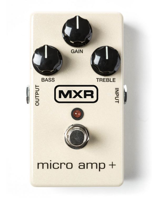 MXR Micro Amp+ Boost Pedal