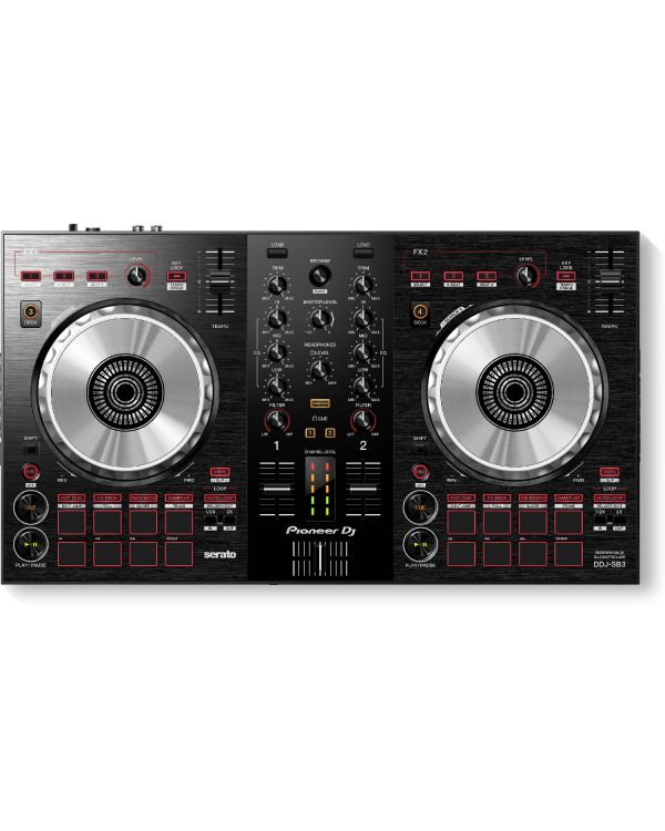 Pioneer DDJ-SB3 2-Channel Controller for Serato DJ