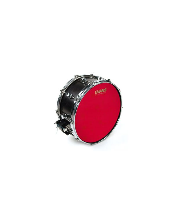 "Evans UV1 14"" Hydraulic Red Coated Snare Batter Head"