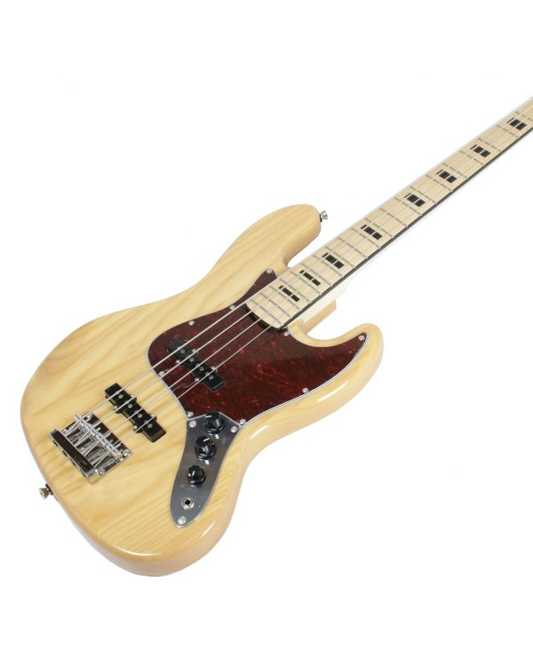 Eastcoast GB200 Bass Guitar, Natural