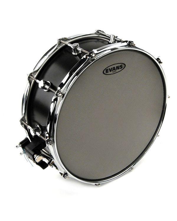 """Evans Hybrid 13"""" Snare Batter Coated Drum Head"""