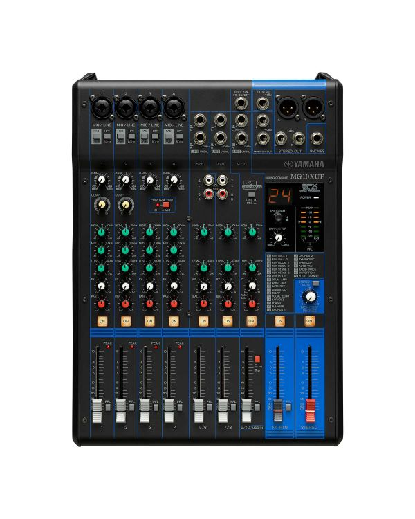 Yamaha MG10XUF 10-Channel USB Mixer