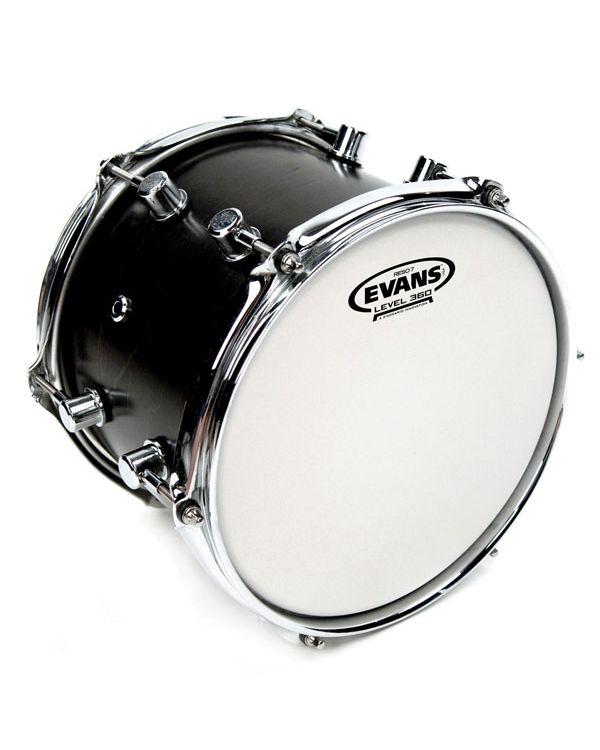 """Evans 12"""" Reso 7 Coated Tom Resonant Drumhead"""