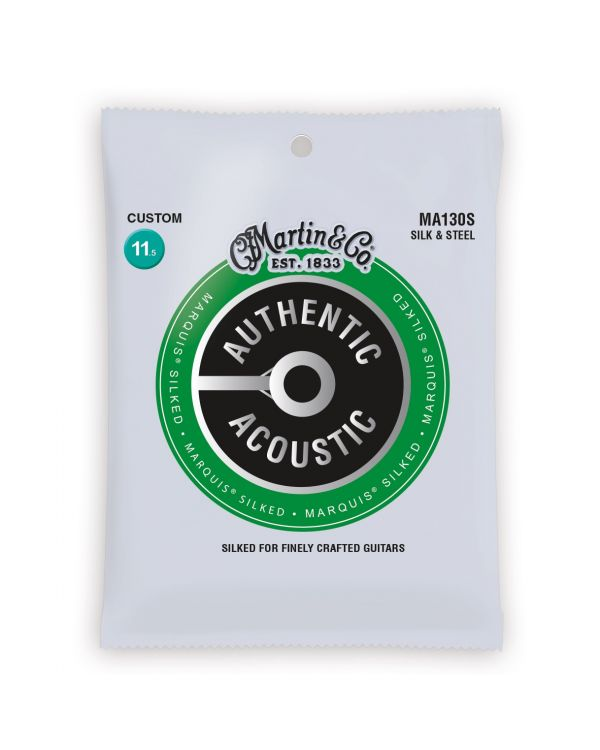 Martin Authentic Acoustic Marquis Silked Silk & Steel Custom Guitar Strings