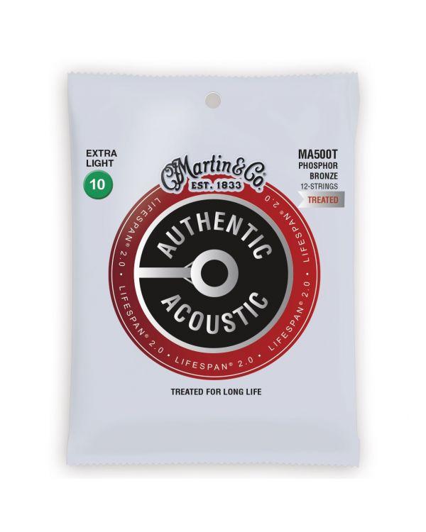 Martin Authentic Acoustic Lifespan 2.0 X-Light Guitar Strings