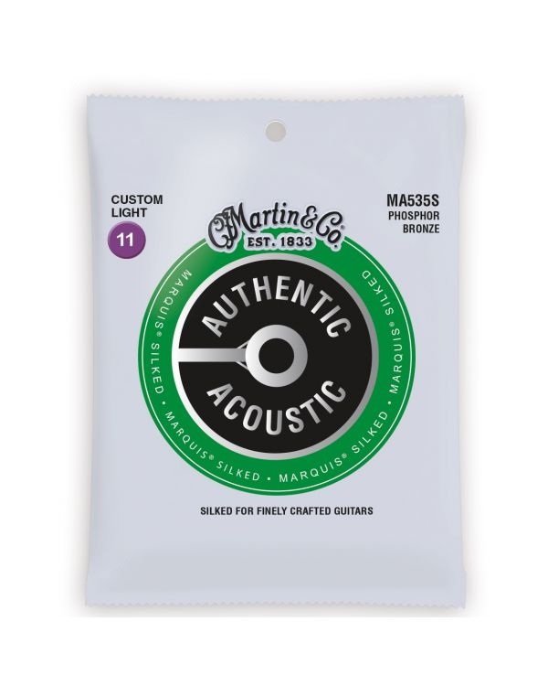Martin Authentic Acoustic Marquis Silked Custom Light