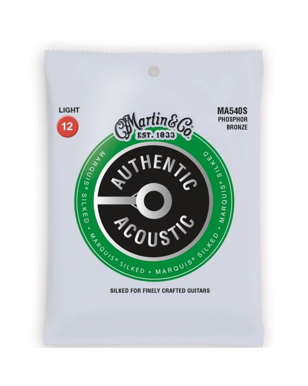 Martin Authentic Acoustic Marquis Silked Light Guitar Strings