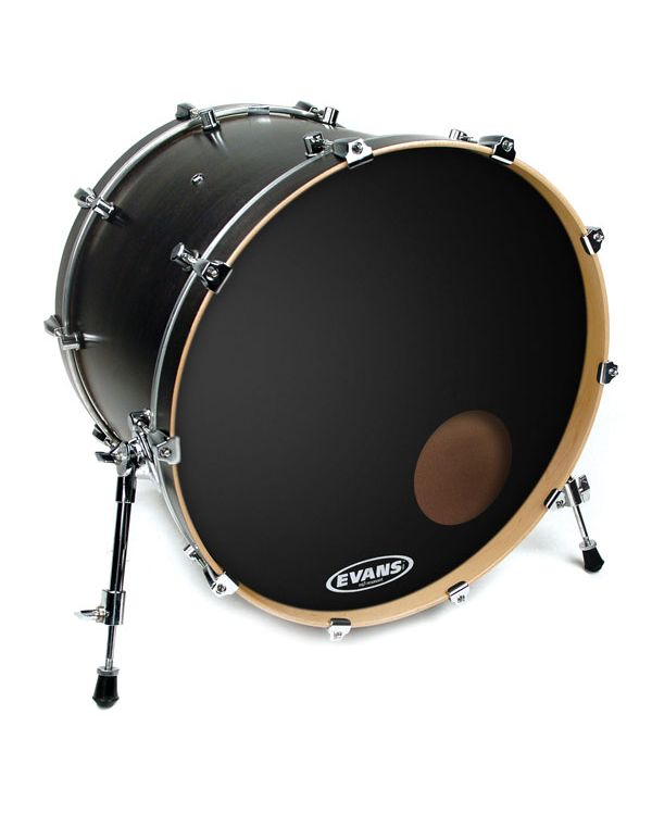 "Evans EQ3 Resonant Black 22"" Bass Drum Head"
