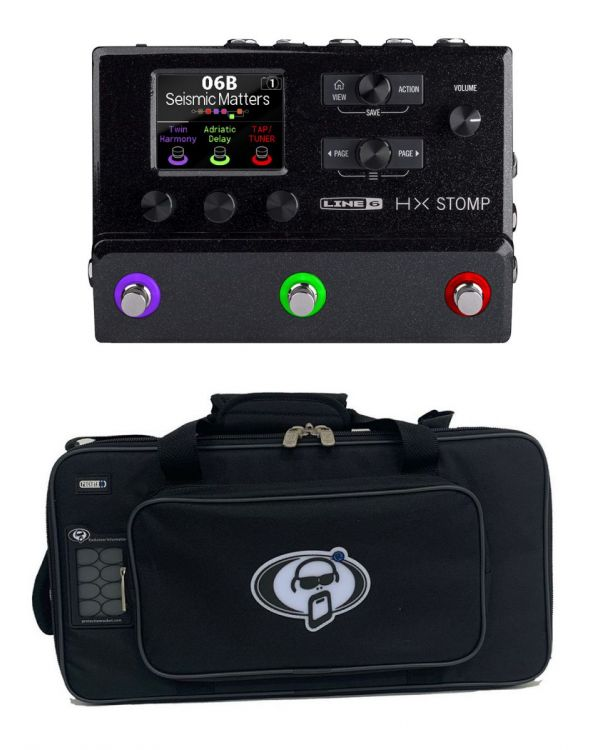 Line 6 Helix Stomp Effects Pedal with Free Rigid Case