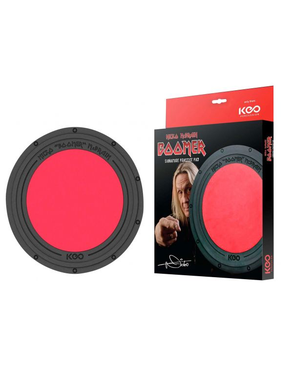 Keo Percussion Nicko McBrain Boomer Pad 10""