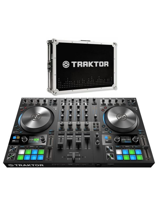 Native Instruments Traktor Kontrol S4 Mk3 with Flight Case Bundle