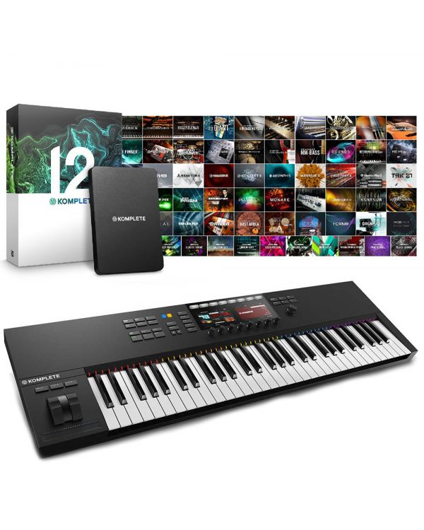 Native Instruments Komplete Kontrol S61 MK2 with Komplete 12