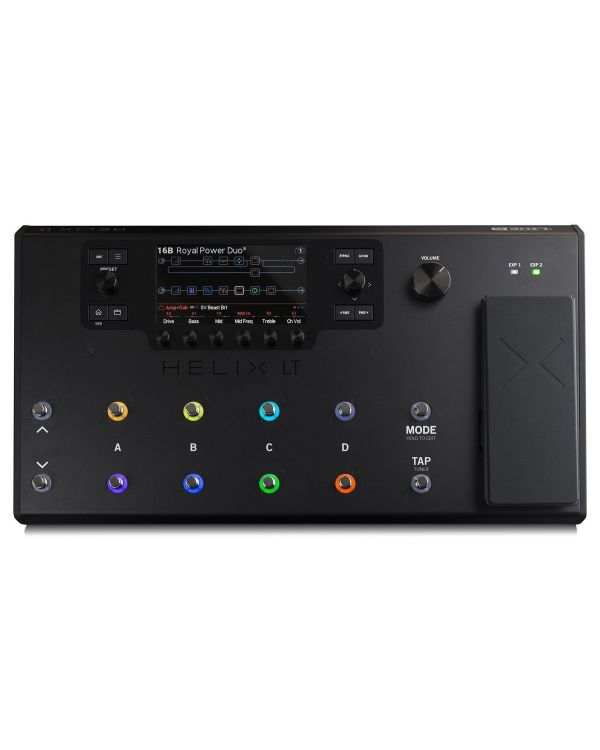 Line 6 Helix LT Effects Processor with Free Soft Case