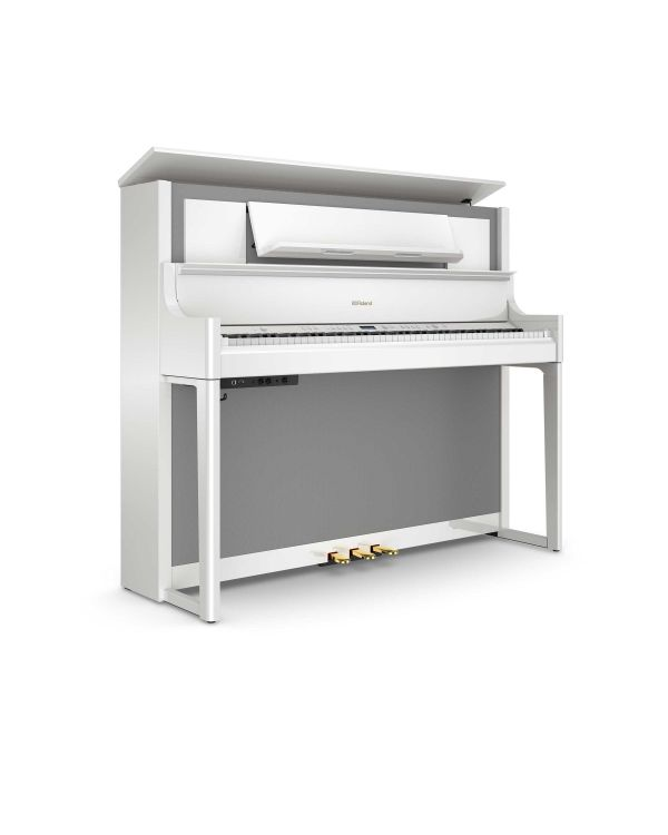 Roland LX708 Digital Home Piano Polished White