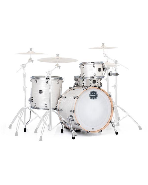 Mapex Saturn V Tour Edition 12/16/22 White Marine Drum Kit