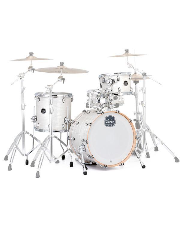 Mapex Saturn V Tour Edition 12/14/20 White Marine Drum Kit
