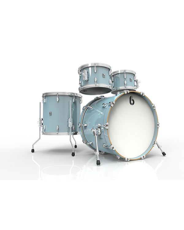 "British Drum Co. Legend Skye Blue 22"" 4-Piece Drum Kit"