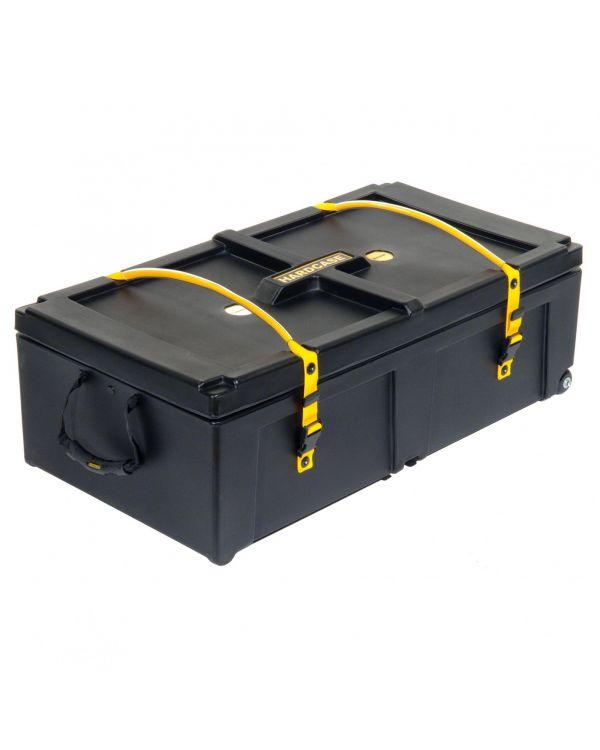 """Hardcase Black 36"""" Hardware Case with Wheels"""