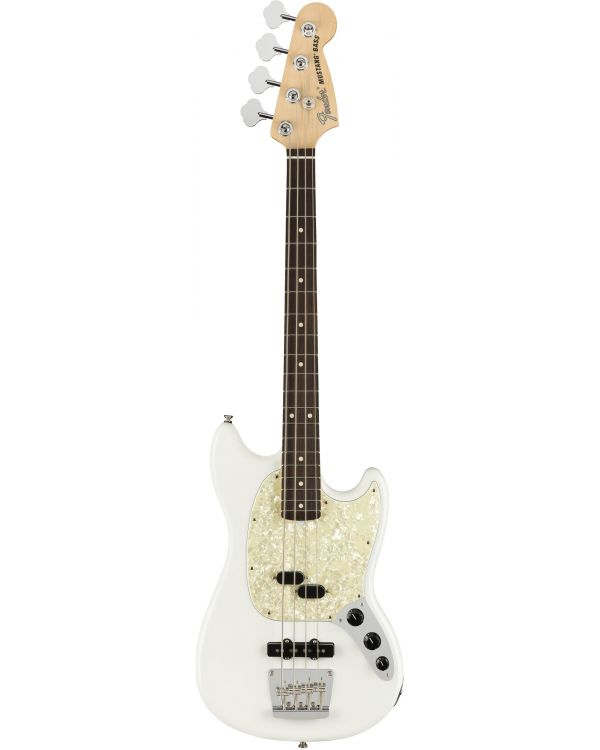 Fender American Performer Mustang Bass RW FB Arctic White