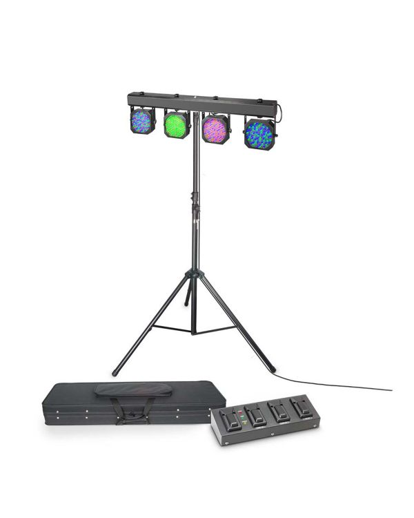 Cameo Multi Par 1 Set LED Lighting System with Case