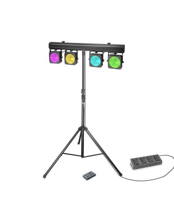 Cameo Multi Par COB 1 Set LED Lighting System, with Case