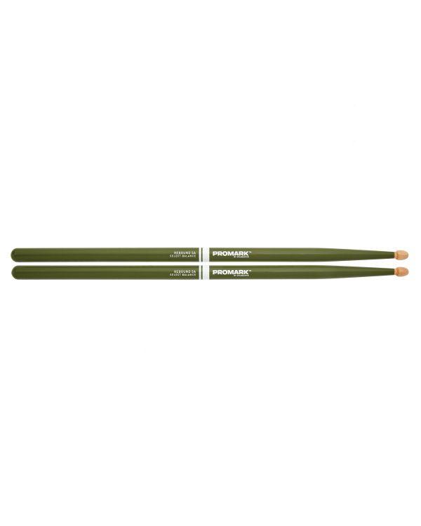 Promark Rebound 5A Acorn Green Drumsticks