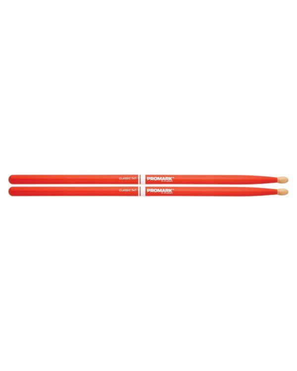 Promark Classic 747 Orange Drumsticks