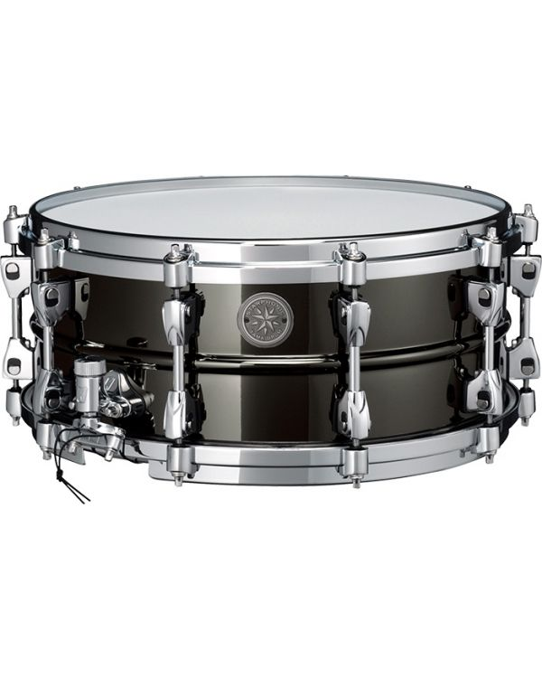 """Tama Starphonic Limited Edition Black Steel 14"""" x 6"""" Snare Drum"""