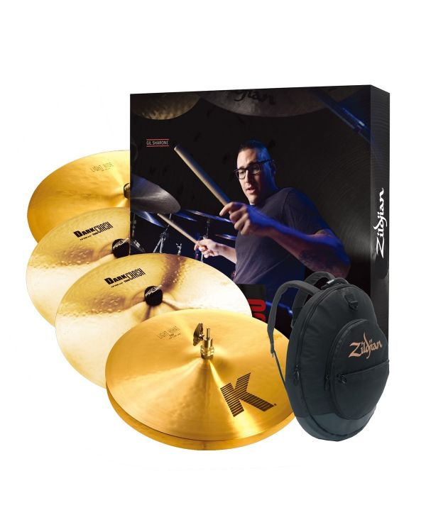 Zildjian KP100 K Cymbal Pack with Cymbal Gig Bag