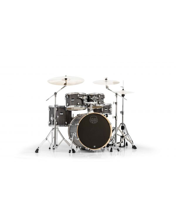Mapex Mars Fusion 5-Piece Smokewood Shell Pack with HP6005 Hardware