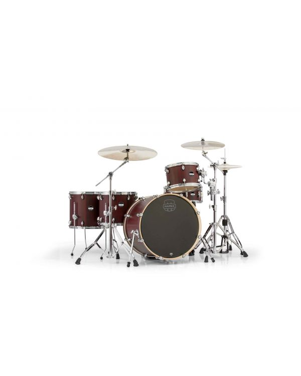 Mapex Mars Crossover 5-Piece Bloodwood Shell with HP6005EB Hardware