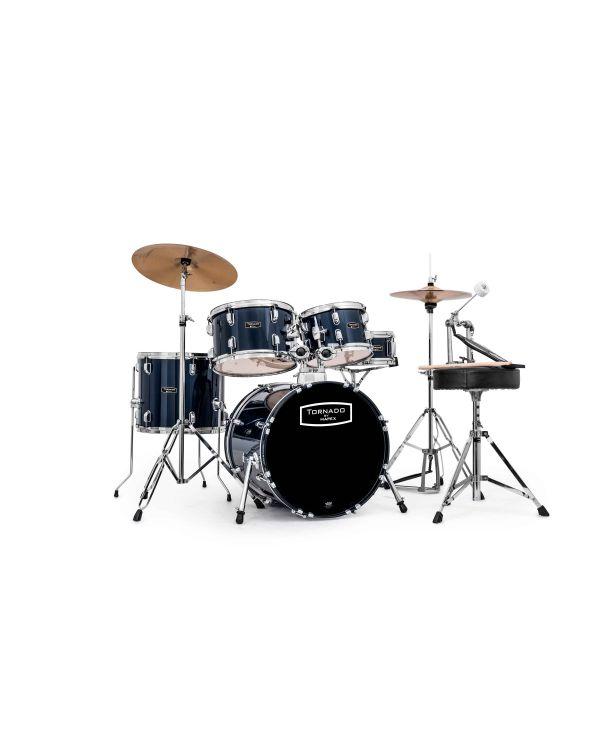 "Mapex Tornado 5-Piece 18"" Fusion Blue Drum Kit"