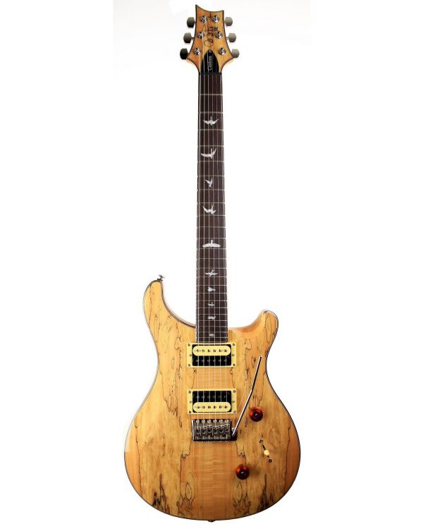 PRS Ltd Edition SE Custom 24 Spalted Maple Top Natural