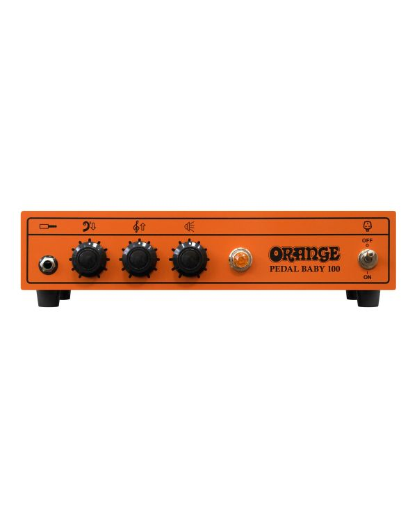 Orange Pedal Baby 100 Amp Head