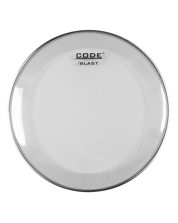 "Code 22"" Blast Clear Bass Drum Batter Head"