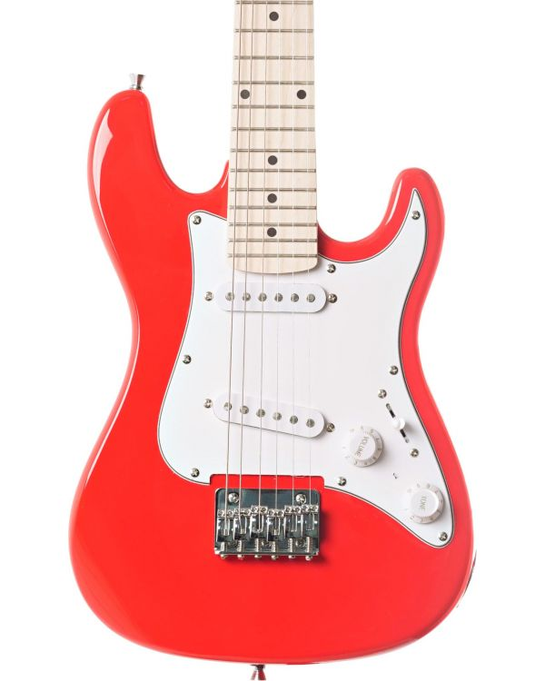 Eastcoast GK20 3/4 Electric Guitar, Red