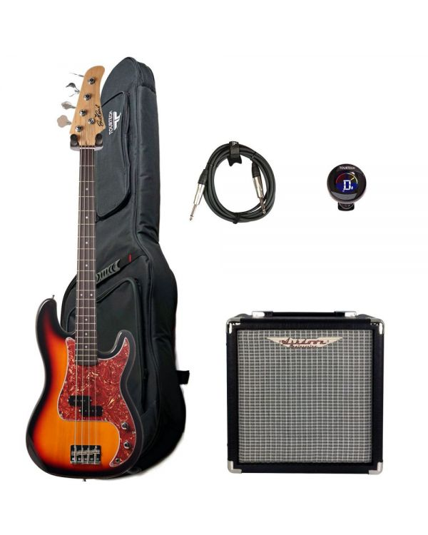 Eastcoast GJ10 Bass And Amplifier Starter Pack