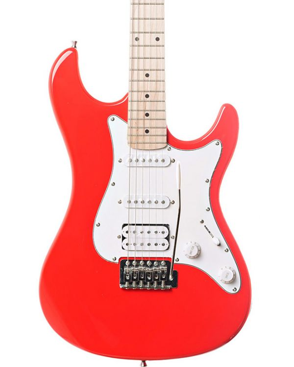 Eastcoast GS100H HSS Electric Guitar, Race Red