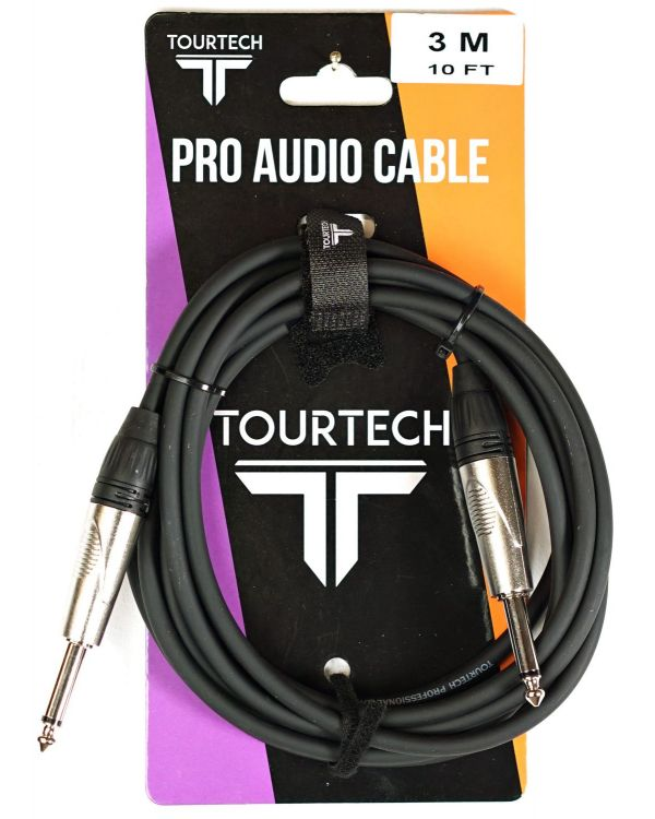 TOURTECH Deluxe Instrument Cable, 3m