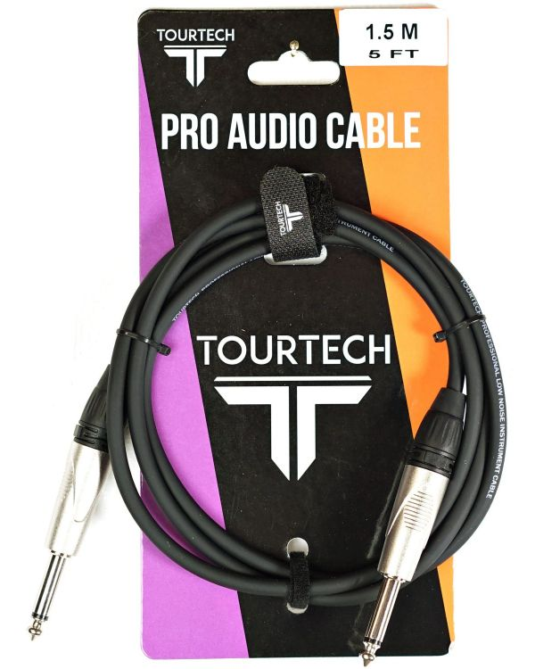 TOURTECH Deluxe Instrument Cable, 1.5m