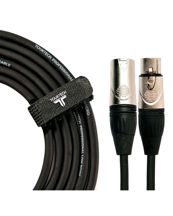 TOURTECH XLR to XLR Deluxe Microphone Cable, 1m
